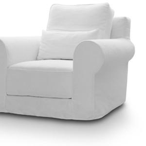 Πολυθρόνα 103x103εκ. με ύφασμα