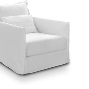 Πολυθρόνα 75x90εκ. με ύφασμα