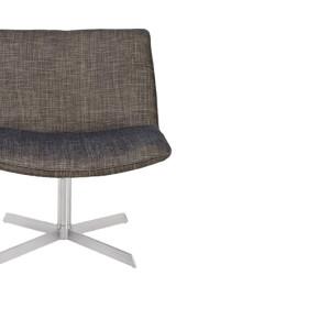 Καρέκλα δερμάτινη 71x71,5x69εκ.