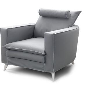 Πολυθρόνα 90x100εκ. με ύφασμα  Από 555€