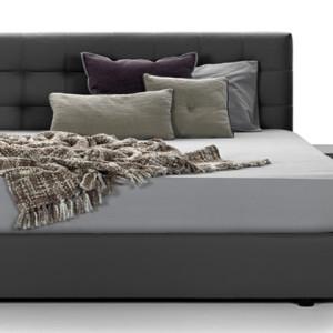Κρεβάτι 210x160x105εκ.   με ύφασμα για στρώμα διαστάσεων 160x200εκ.  Το στρώμα υποστηρίζεται από σανίδες.