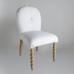 Kαρέκλα με σκαλιστό πόδι παραγωγής GRADA